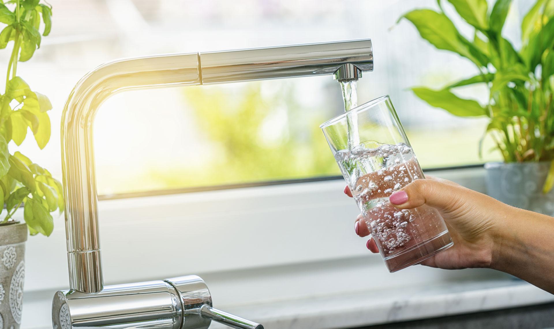 Eau douce du robinet