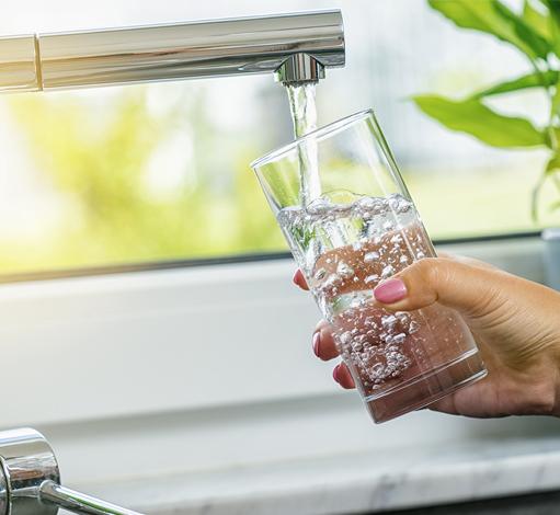 Une eau du robinet saine